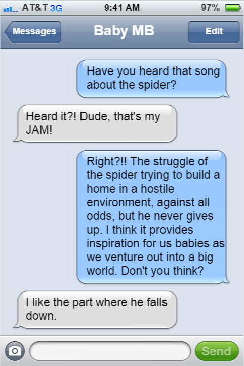 baby spider song