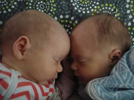 twins head shot